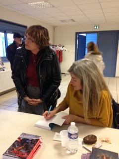 Le 30 novembre, café littéraire avec Claire MICHAUD-DESTRIAU pour invité