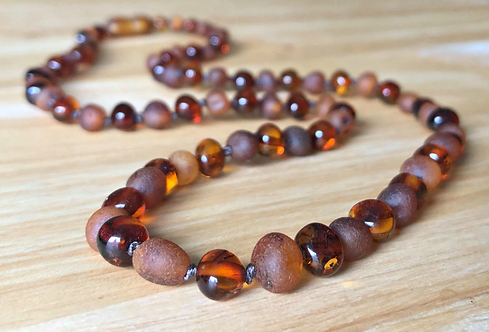 Sugar 'N Spice : Baltic Amber Teething Necklace