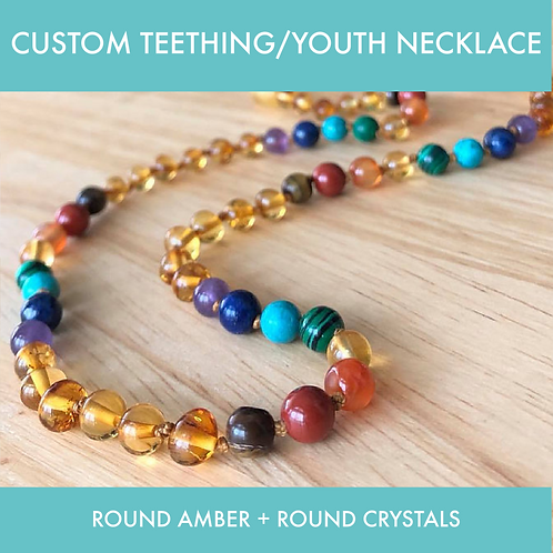 CUSTOM Teething/Youth Necklace