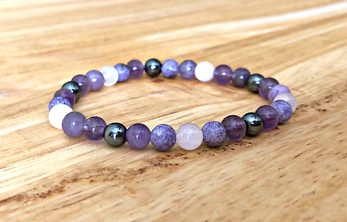 Give Peace A Chance: Anxiety, Grounding, and Stress Support Bracelet