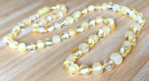 Mellow Yellow : Baltic Amber Adult Necklace