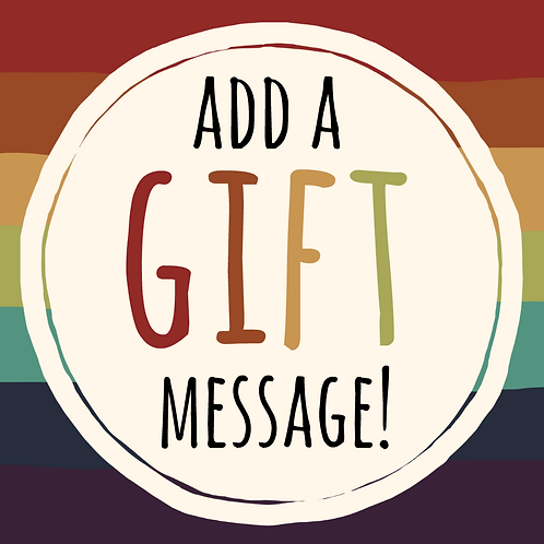 Add A Gift Message