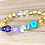 Thumbnail: Mermaid Tails : Baltic Amber Teething Anklet