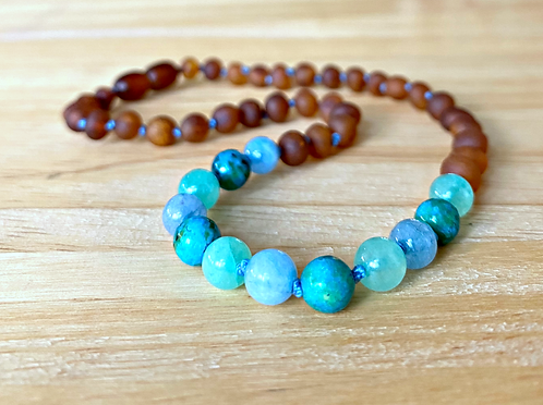 Vitamin Sea : Baltic Amber Teething Necklace