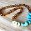 Thumbnail: Blue Lagoon : Baltic Amber Teething Necklace
