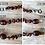 Thumbnail: Tupelo Honey : Polished Baltic Amber Anklet