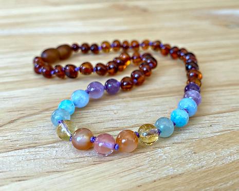 Sugar High : Baltic Amber Teething Necklace