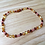 Thumbnail: Chocolate Cherry : Baltic Amber Teething Necklace