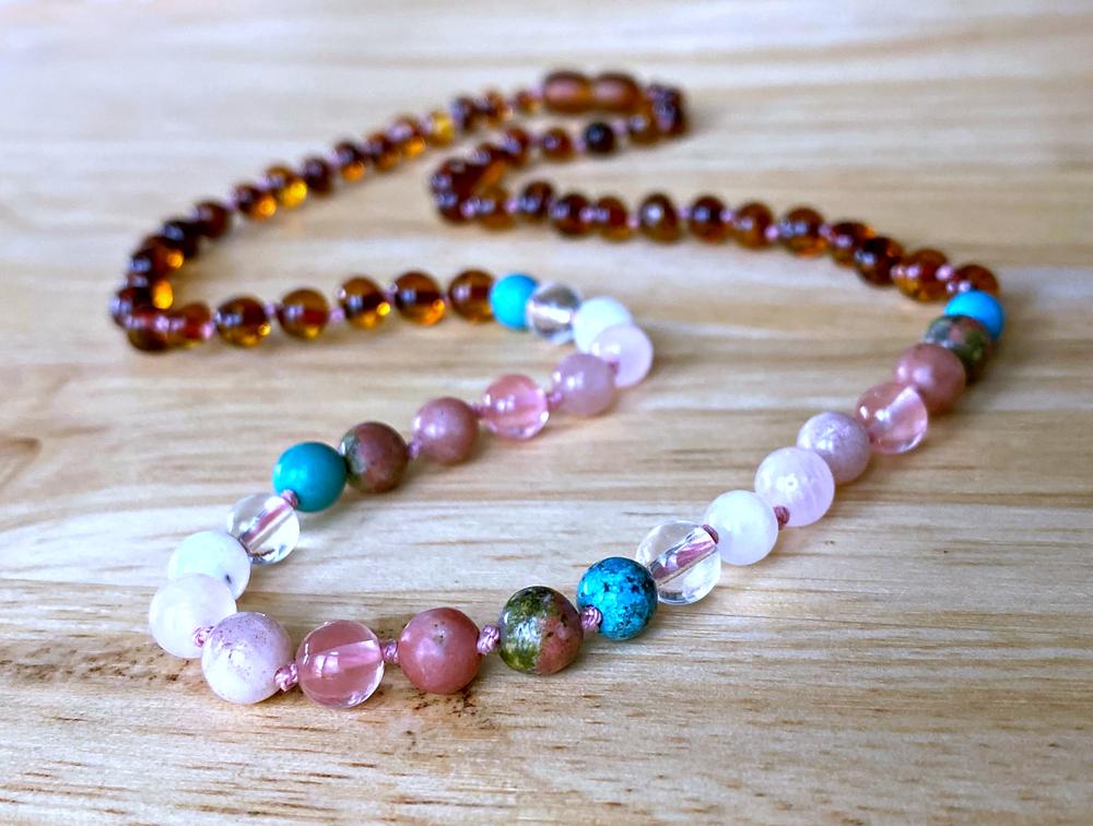 Let It Be : Postpartum Support Necklace