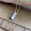 """Thumbnail: 24"""" Cloud Quartz Crystal Point Chain Necklace"""