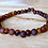 Thumbnail: Sugar and Spice : Baltic Amber Rounds Anklet