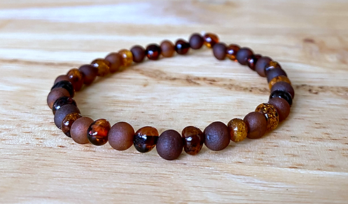 Sugar & Spice : Baltic Amber Rounds Anklet