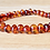 Thumbnail: Polished Cognac Baltic Amber Bracelet