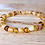 Thumbnail: Honeybunch : Baltic Amber Rounds Bracelet