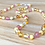 Thumbnail: Strawberries & Cream : Baltic Amber Adult Necklace