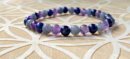 Third Eye Chakra Stretchy Bracelet