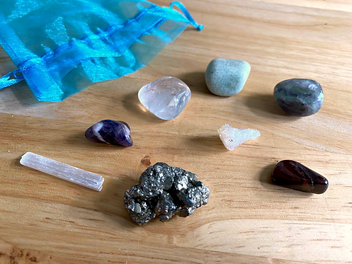Healing Crystal Set: Funky Birdie Favorites