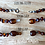 Thumbnail: Dark Matter : Baltic Amber Rounds Anklet