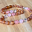 Thumbnail: Raspberry Truffle : Unpolished Kid's Baltic Amber Necklace