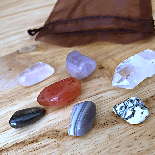 Healing Crystal Set: Home Protection