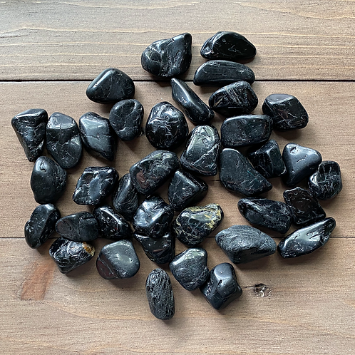 Black Tourmaline Tumbled Stone