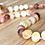 Thumbnail: Banana Puddin : Unpolished Baltic Amber Teething Necklace