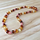 Thumbnail: Chocolate Cherry : Baltic Amber Adult Necklace