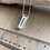 "Thumbnail: 22"" Clear Quartz Crystal Point Chain Necklace"