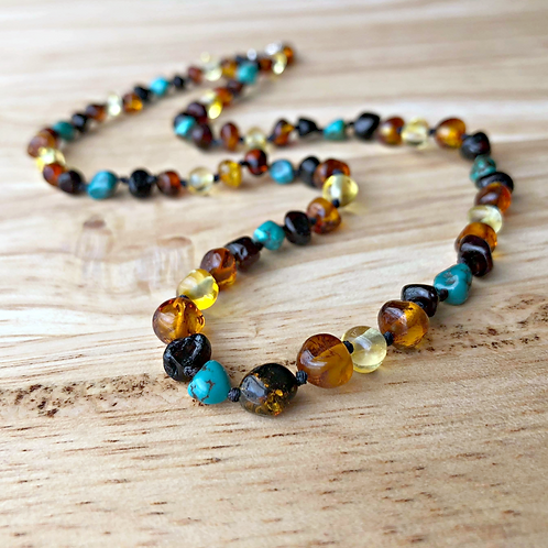 Sedona : Kid's Baltic Amber Necklace