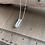 "Thumbnail: 18"" Clear Quartz Crystal Point Chain Necklace"