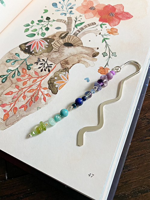 Custom Crystal Bookmark