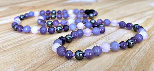 Give Peace A Chance: Anxiety, Grounding, and Stress Support Necklace