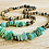 Thumbnail: Grassroots : Adult Baltic Amber Necklace with Chrysoprase