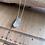 """Thumbnail: 18"""" Cloud Quartz Crystal Point Chain Necklace"""