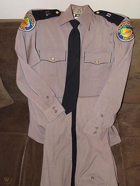 Pink Highway Patrol Uniform
