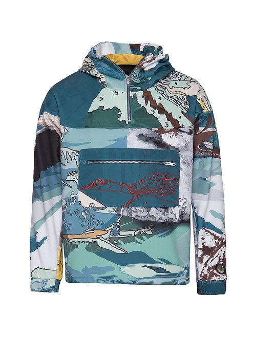Printed Expedition Sweater