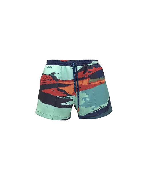 Maui Neoprene Shorts