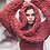 Thumbnail: Red Chunky Knit Sleeves
