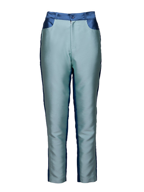 Double Blue Trousers