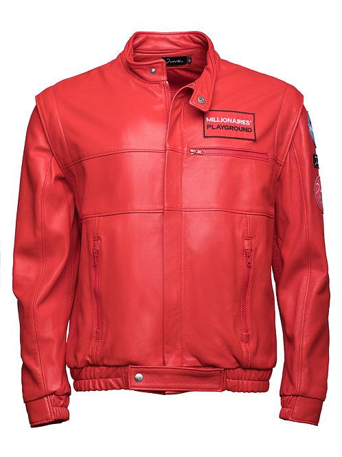 F1 Leather Jacket