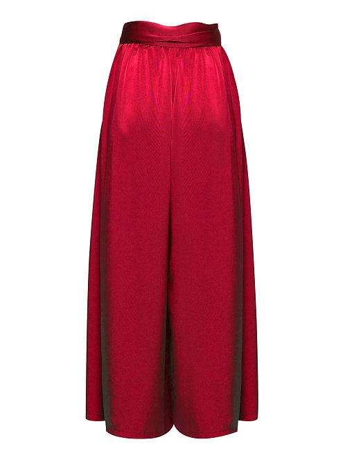 Large Red Trousers