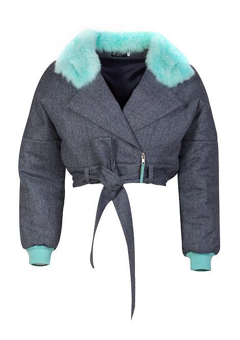 Merino Wool Short Jacket
