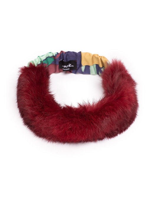 Headband in Fur