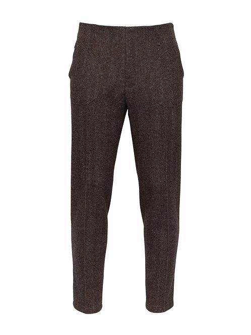 Brown Alpine Trousers