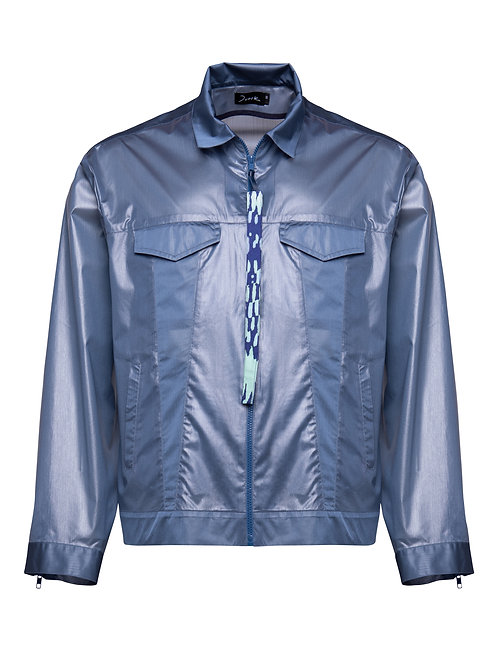 Waterproof Translucent Jeans Jacket