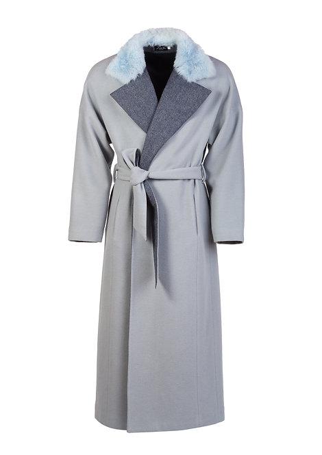 Long Merino Wool Coat