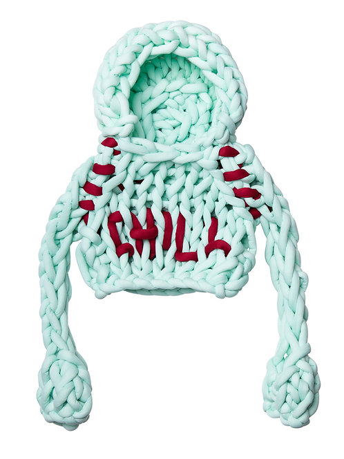 Mint Chunky Knit