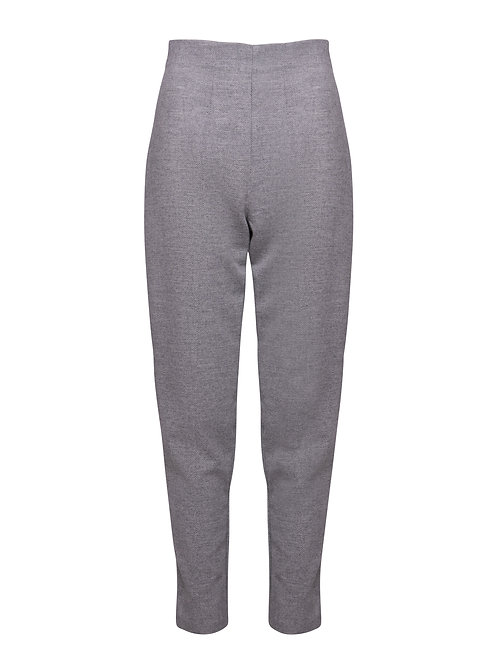 Fitted Trousers Grey