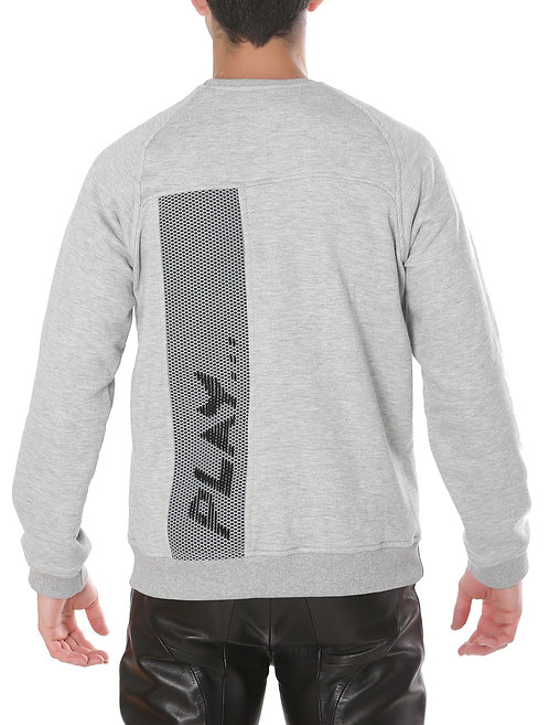 Grey 'Play' Sweater