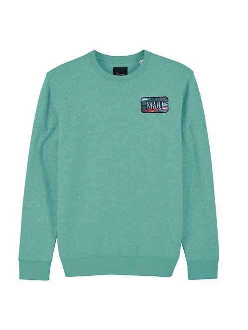 Organic Green Maui Sweater